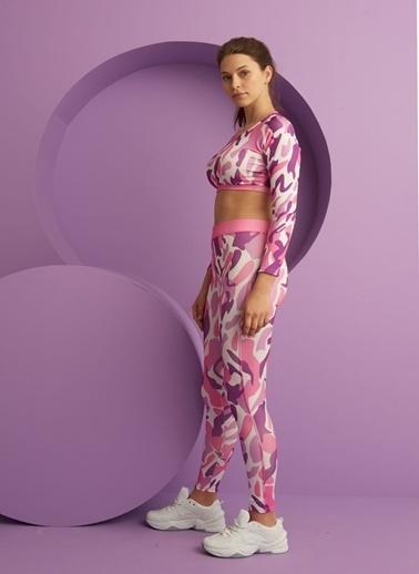 Fashion Tayt 2 li Takım Pembe